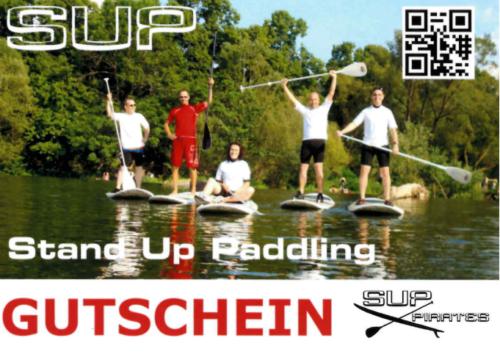 SUP Gutschein